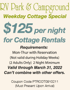 Coupon Summer Cottage Weekday 2020