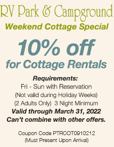 Coupon Summer Cottage Weekend 2020
